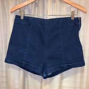 Forever 21 Stretch Jean Shorts